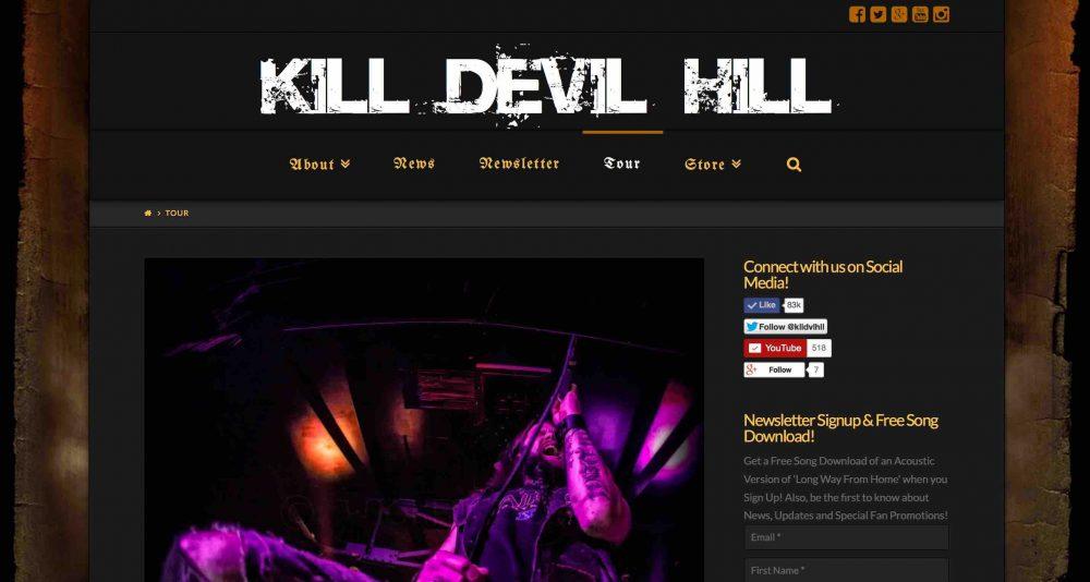 Kill Devil Hill Music - Rex Brown, Mark Zavon, Johnny Kelly and Dewey Bragg